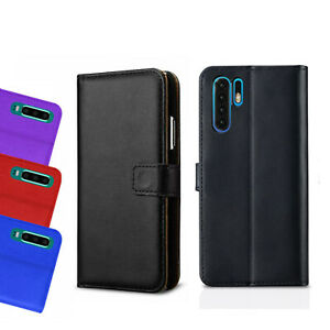 Case For Huawei P10 P20 P30 P40 Pro Lite Luxury Leather Magnetic Flip Cover
