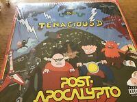 """Tenacious D - Post Apocalypto 12"""" LP Ltd Edition Green Vinyl Nr Mint As New"""