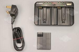 Genuine Canon LC-E4N Battery Charger EOS 1DX I&II 1D III LP-E4 LP-E4N Original