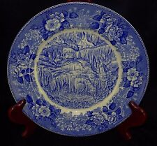 Antique Staffordshire ADAMS TITANIA'S VEIL CAVERNS Virginia Collector's Plate