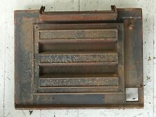 Vintage Early 1980's Vermont Castings Vigilant Wood Stove Outer Back!