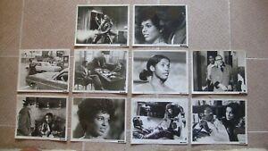 "SHAFT US (10) Stills 8x10"" Movie Poster All Black Cast Roundtree Film 1971"