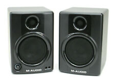 PAIR of M-Audio Studiophile AV40 Powered Reference Studio Monitor Speakers