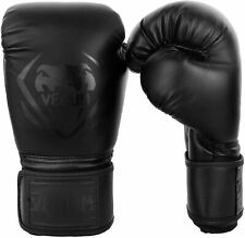 🥊 VENUM CONTENDER BOXING GLOVES SYNTHETIC LEATHER 16 OZ BLACK (NEUF, NEW)