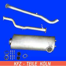VW LT 28 / 28-35 / 40-55 / 2.4TD (lang) Endschalldämpfer + Abgasrohr + Endrohr