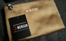Morgan Accessories Gold Cosmetics Purse Bag/Make-Up/Case/Travel/Holiday/NEW