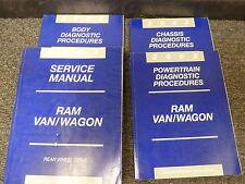 2002 Dodge 3500 Ram Van Wagon Shop Service Repair Manual 5.2L 5.9L Cargo