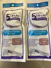 Natural White 5 minute tooth whitening system.  Fast resultes 2 Treatments