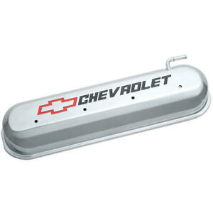 Proform Valve Cover 141-264; GM Performance Polished Aluminum for Chevy LS
