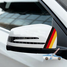 2xFlag of Germany German Car Rearview Mirror Car Decal Sticker 3M reflective