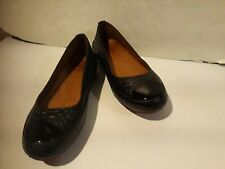FitFlop Due Snake Black Leather Snake Embossed SlipOn red sole 38.5 US 8