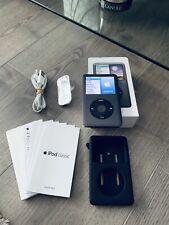 Apple iPod Classic 7th Generation Black (160GB) - Boxed Bundle