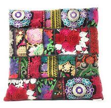 Kambadia Sitzkissen Orientalisch Bodenkissen Yogakissen Kissen Indien Stickerei