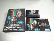 Michael Jackson`s Moonwalker Mega Drive Spiel komplett mit OVP und Anleitung
