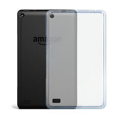 Clear Protective Case Armor Guard Shield Saver Cover For Amazon Fire 7 8 10