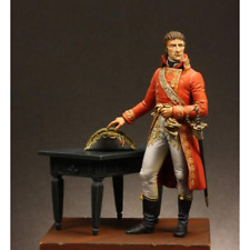 Atelier maket Bonaparte Cónsul 1st + Escénico base 75 mm Modelo Kit de metal sin pintar