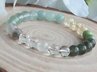 Gemstone Crystal Healing Hormone Balance PMS PMT Support Necklace Gift Bag GB