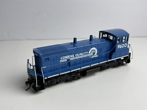 Custom Athearn HO scale Conrail Quality SW-1500 #9620 Yard Switcher Locomotive