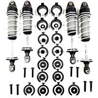 Traxxas Rustler XL-5 VXL Complete set Ultra Shocks Front / Rear w screws 4x4 2wd