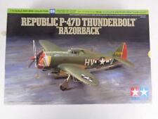 """NEW Tamiya Republic P-47C Thunderbolt """"Razorback"""" 1/72 WWII War Bird Model 60769"""
