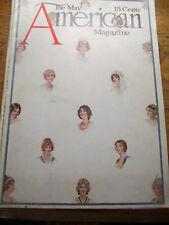 5/1914 AMERICAN MAGAZINE JOHN RAE COVER MUCKRAKER STANDARD BAKER BENDA BASEBALL