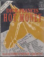 Dick Francis Hot Money 2 Cassette Audio Book Thriller Abridged FASTPOST