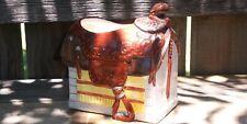 """Decorative Saddle Shaped Flower Vase - 5-1/2"""""""
