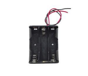 Battery Holders 3 AA w 7.5V battery plug