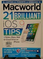 Macworld 21 Brilliant iOS 9 Tips Run Windows 10 on Mac Oct 2015 FREE SHIPPING JB