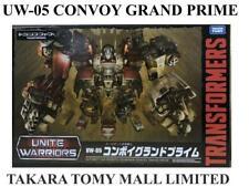 Transformers Unite Warriors UW05 Convoy Grand Prime Takara Tomy Figure USED