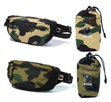 A BATHING APE Goods Men's 1ST CAMO PACKBLE WAIST BAG 2colors Tote Bag New