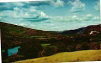 Vintage Postcard - Pownal Valley As Seen From Brow Gift Shop Vermont VT #922