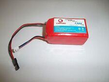 YUNTONG Accu de réception  LiFe PO4 - 6.4 volt / 1300MAh + équilibreur