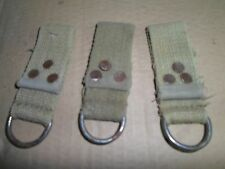 """loops German Army WW2 belt STRAPS """"D"""" RINGS trophy Africa corps nato military"""