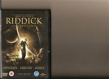 RIDDICK COLLECTION - PITCH BLACK / DARK FURY / CHRONICLES OGF RIDDICK DVD DIESEL