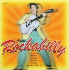 Classic Rockabilly 4 CD Box V/A Oldies Elvis Roy Orbison Carl Perkins Ray Smith