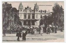 Facade du Casino Les Jardins Monte Carlo Monaco 1910c postcard