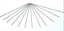 BAHCO MEDIUM CUT SPIRAL FRETSAW BLADE - Pack of 12 Fret Saw Blades