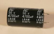 Capacitor - Electrolytic - 4700 MFD - 50 V