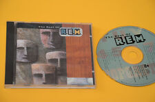 REM CD (NO LP )THE BEST OF 1°ST ORIG 1991 CON LIBRETTO EX TOP AUDIOFI
