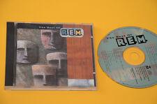 REM CD (NO LP )THE BEST OF 1°ST ORIG 1991 CON LIBRETTO EX TOP AUDIOFI