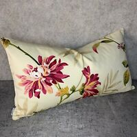 "Stunning Floral Cushion Cover John Lewis &Partners BAYSWATER Fabric 12""x20"""