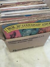 Lot Of 34 45 Rpm Records MGM 30th Anniversary Album,Louis Armstrong, Many More!!