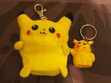 Porte-clef Pokemon Pikachu (+ 1 extra petit)
