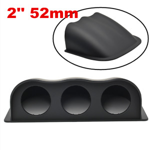 ABS Car Universal Black 2Inch 52mm 3 Triple Hole Dash Gauge Pod Mount Holder