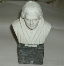 Büste auf Sockel - Meissen - Martin Luther - 15 cm hoch - 9 cm breit