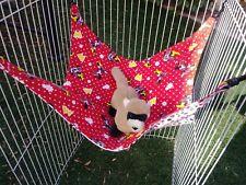 "Ferret Double Sided Hammock - Minnie Mouse / Polka Dots 15"" x 16"""