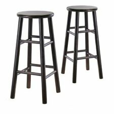 Winsome Bevel Seat Stool - Set Of 2