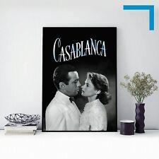 1942 CASABLANCA - Movie Film Poster Print - A3 A4 A5 Home Decor/Wall Art