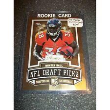 2013 Pestige - Draft Picks Gold #15 Momtee Ball Rc : Denver Broncos